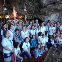 Covadongas en la Santa Cueva