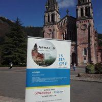 Cartel del Arraigo 2018 en Covadonga